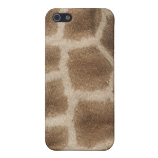 Giraffe skin with brown spots, photo from Africa Case For iPhone SE/5/5s