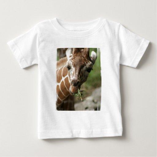 Giraffe Snack Baby T-Shirt
