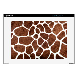 Giraffe spots decals for laptops