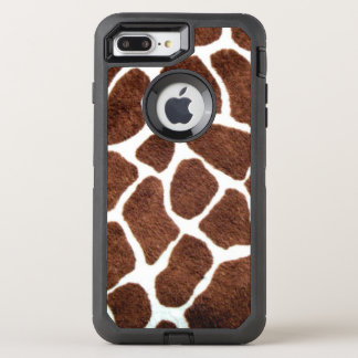 Giraffe spots OtterBox defender iPhone 7 plus case