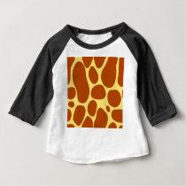 giraffe spots pattern baby T-Shirt