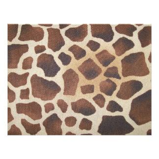 Giraffe Spots Scrapbooking Paper