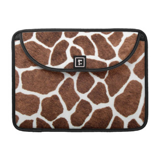 Giraffe spots sleeve for MacBook pro