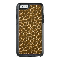 Giraffe Spots Wild Safari Animal Skin Print OtterBox iPhone 6/6s Case