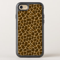 Giraffe Spots Wild Safari Animal Skin Print OtterBox Symmetry iPhone 7 Case