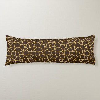 Giraffe Spotted Background Body Pillow