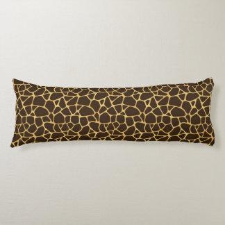 Giraffe Spotted Background Body Pillow