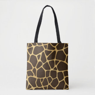 Giraffe Spotted Background Tote Bag