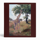 Giraffe Standing Tall Binder