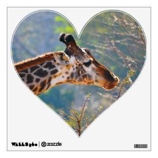 Giraffe Stickers Wall Decal for Giraffe Lovers