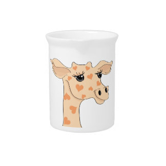 Giraffe Tea Pitcher