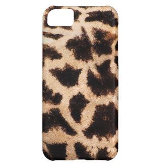 Giraffe texture fur skin pattern print photograph cover for iPhone 5C