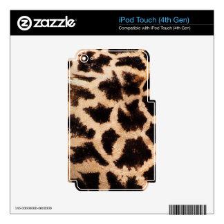 giraffe-texture v1 skins for iPod touch 4G