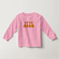 Giraffe Toddler Long Sleeve T-shirt
