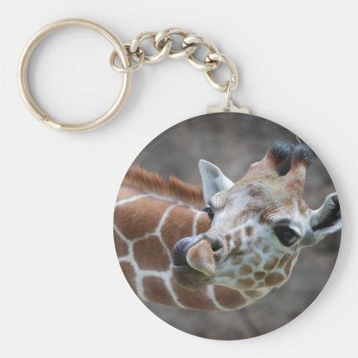 Giraffe Tongue Keychain
