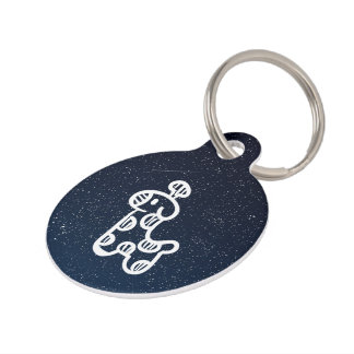 Giraffe Toys Sign Pet Tag
