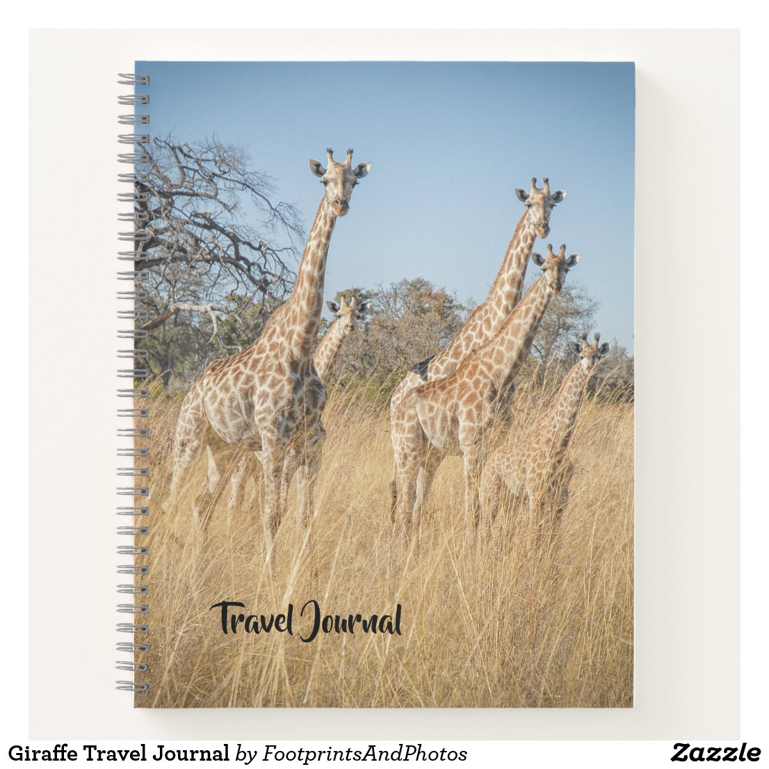 Giraffe Travel Journal