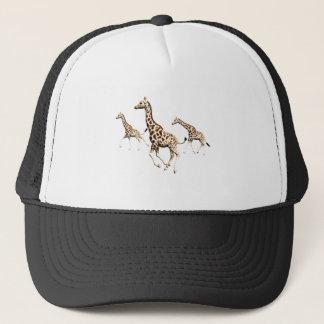 Giraffe Trio Trucker Hat