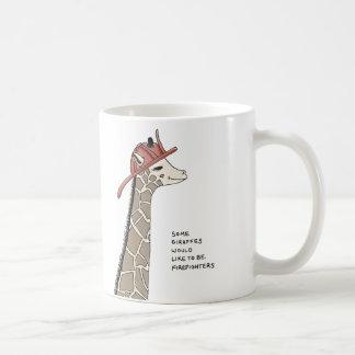 giraffe trivia coffee mug
