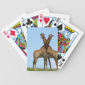 Giraffe Twins Deck of Cards Bicycle Playing Cards