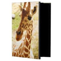 Giraffe Up Close iPad Air Case