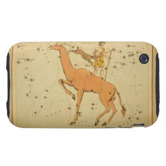 Giraffe - Vintage Astronomical Star Chart Image iPhone 3 Tough Cover