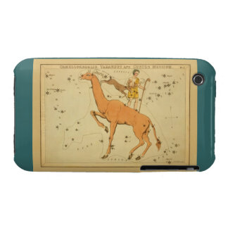 Giraffe - Vintage Astronomical Star Chart Image iPhone 3 Case