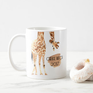 Giraffe Watch 2017 - Looking out Mug
