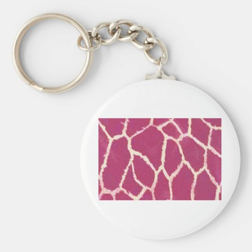 Giraffe Wild Animal Keychains