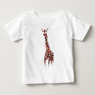 Giraffe Wildlife Art Baby T-Shirt