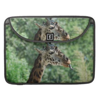 Giraffe with a Long Tongue MacBook Pro Sleeve