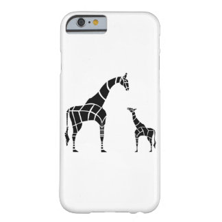 Giraffe with Calf Barely There iPhone 6 Case