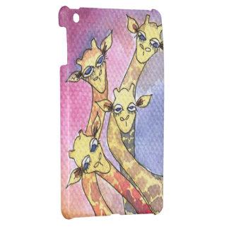 Giraffe Wtercolor Funny Animal iPad Mini Covers