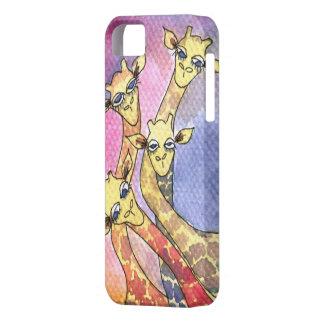 Giraffe Wtercolor Funny Animal iPhone SE/5/5s Case