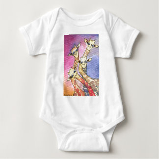 Giraffe Wtercolor Funny Animal Shirt