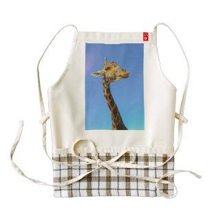 Giraffe Zazzle HEART Apron