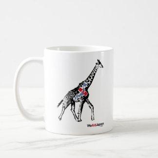 Giraffe & Zebra Mug キリンとシマウママグカップ
