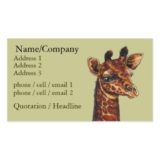 Giraffee Business Card