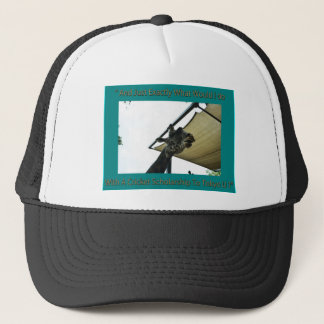 Giraffee meme trucker hat