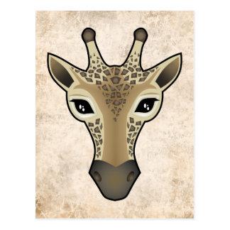 Giraffely Post Card