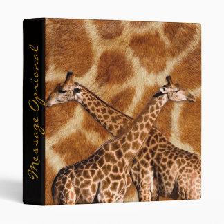 Giraffes 1 Binders Options
