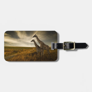 Giraffes and The Landscape Bag Tag