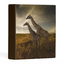 Giraffes and The Landscape Mini Binder