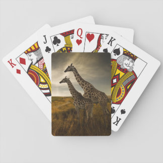 Giraffes and The Landscape Poker Deck