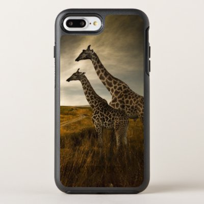Giraffes and The Landscape OtterBox Symmetry iPhone 8 Plus/7 Plus Case
