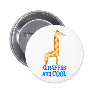 Giraffes are COOL Pinback Button