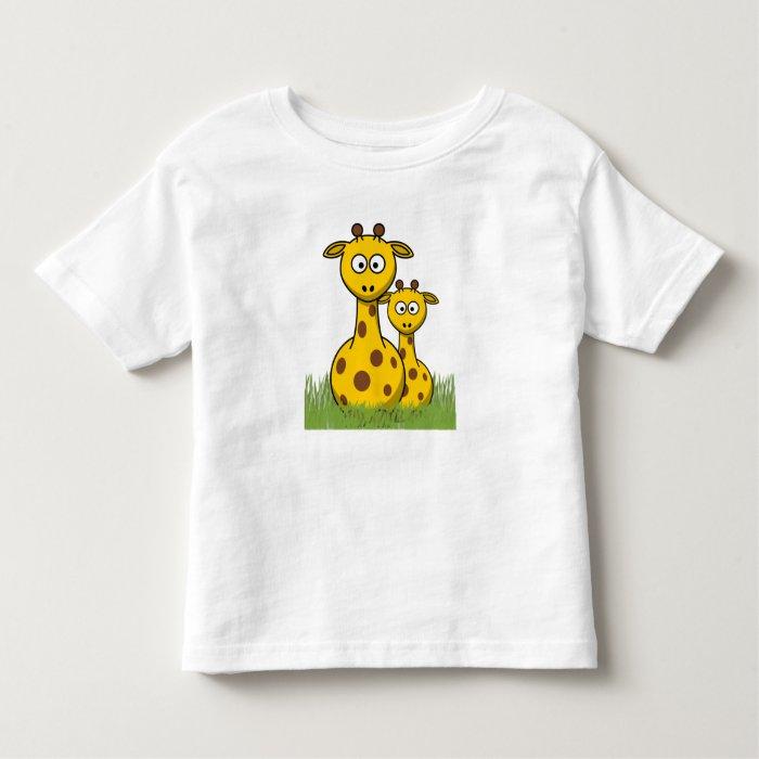 giraffes are my friend toddler t-shirt