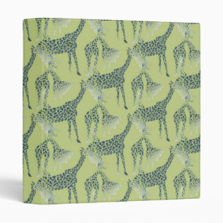 Giraffes Binder