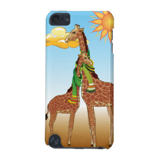 Giraffes Couple Forever In Love iPod Touch 5 Case