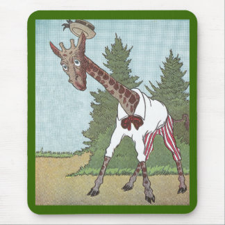 Giraffes Have Very Long Legs Mouse Pad